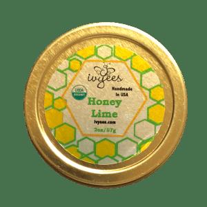 Honey Lime Lip Balm Tin