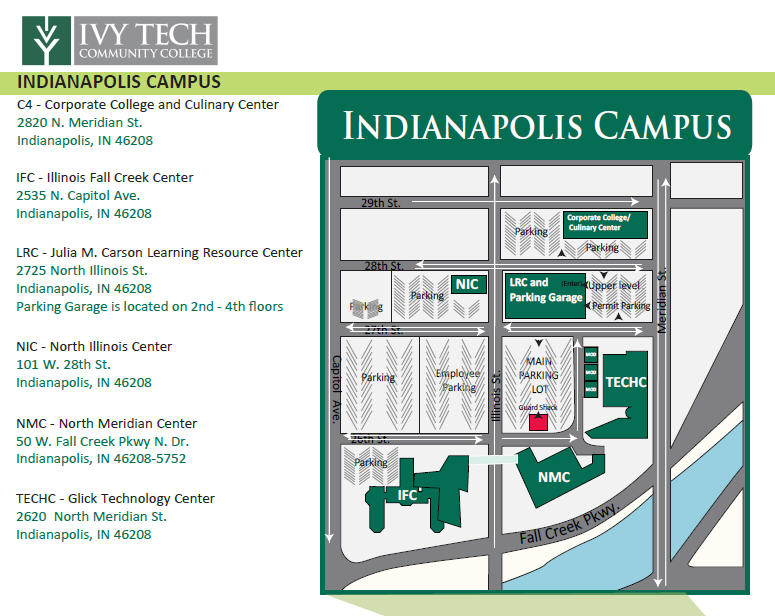 Ivy Tech Bloomington Campus Map.Ivy Tech Community College Of Indiana Ivy Tech Indianapolis