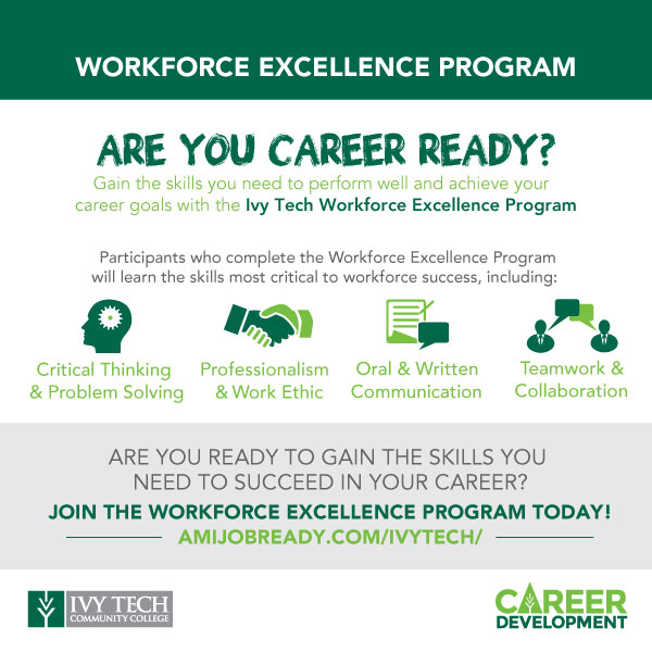 Career Development Ivy Tech Community College Of Indiana