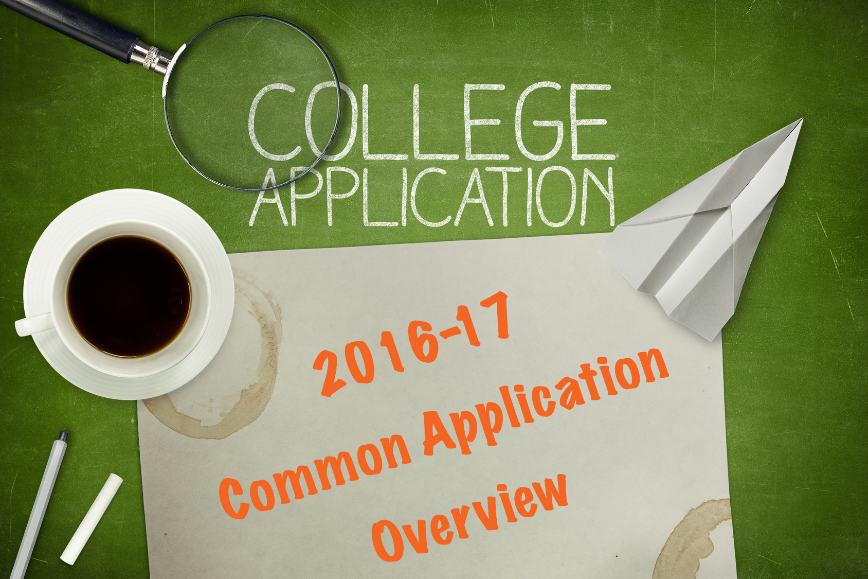 2016-17 Common Application Overview Ivywise
