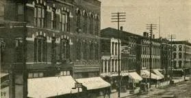 Union Block postcard