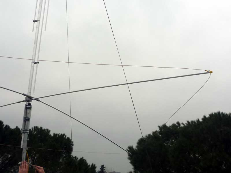 Be. Gap amateur antenna And have