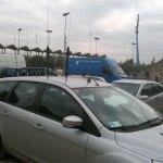 A mobile antenna farm example