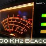 500 KHz Beacon ARI Milano