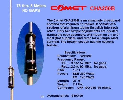 Comet CHA250B Review - IW5EDI Simone - Ham-Radio