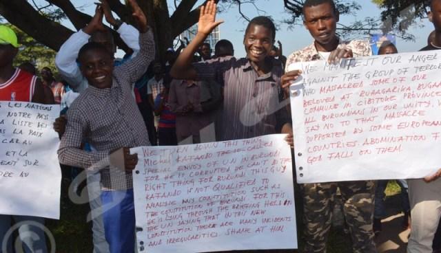 Marche-manifestation contre Kafando et la France