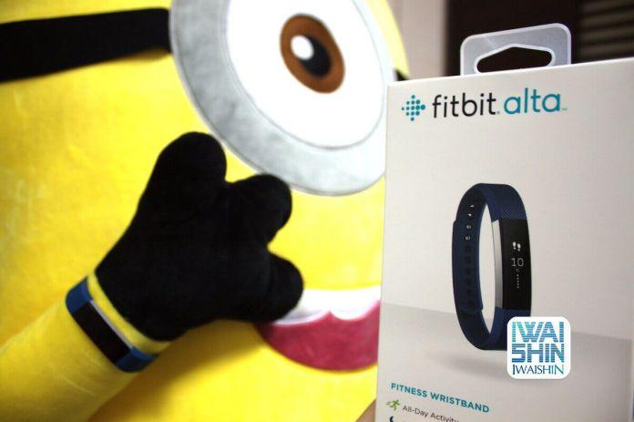Fitbit Alta unbox taiwan723