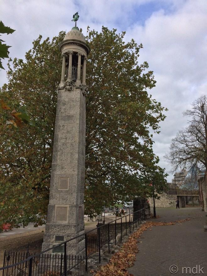 The Mayflower memorial