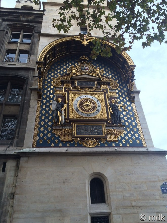 The first public clock in France, sort of