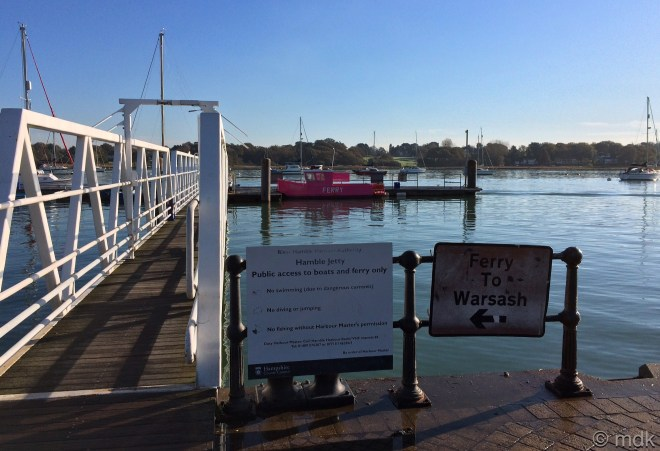 The little pink ferry