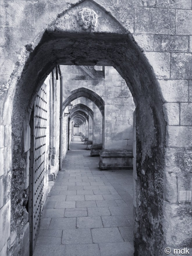 Winchester Cathedral arches