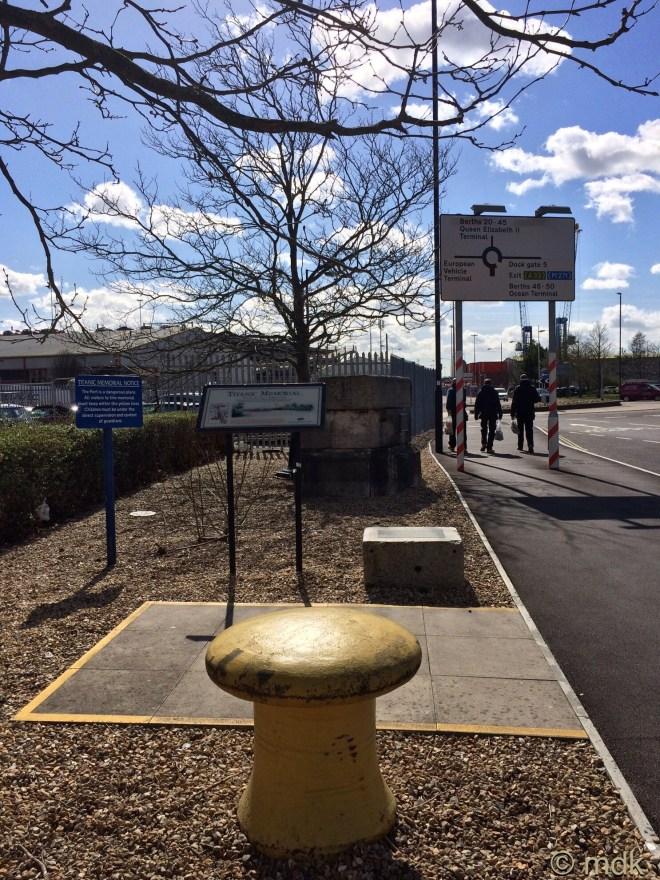 The Dock Gate 4 memorial