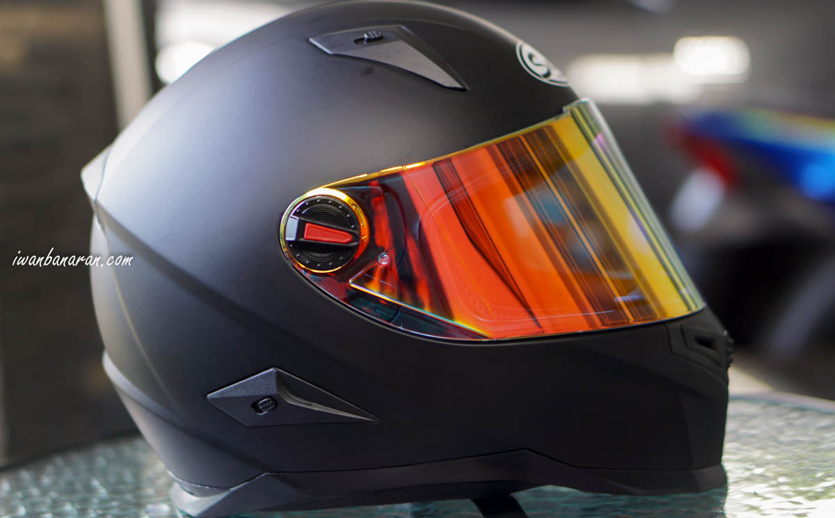 Review Helm Snail FFS1 emang cakep nih helm