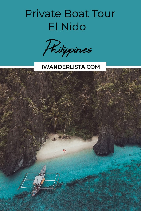 The Best Private Boat Tour In El Nido I Wanderlista