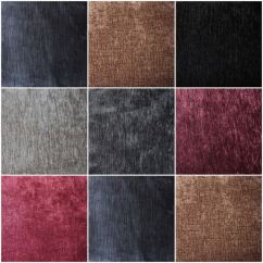 Crushed Velvet Sofa Fabric Expo Tickets Luxury Soft Plain Heavy Weight Cotton Pure ...