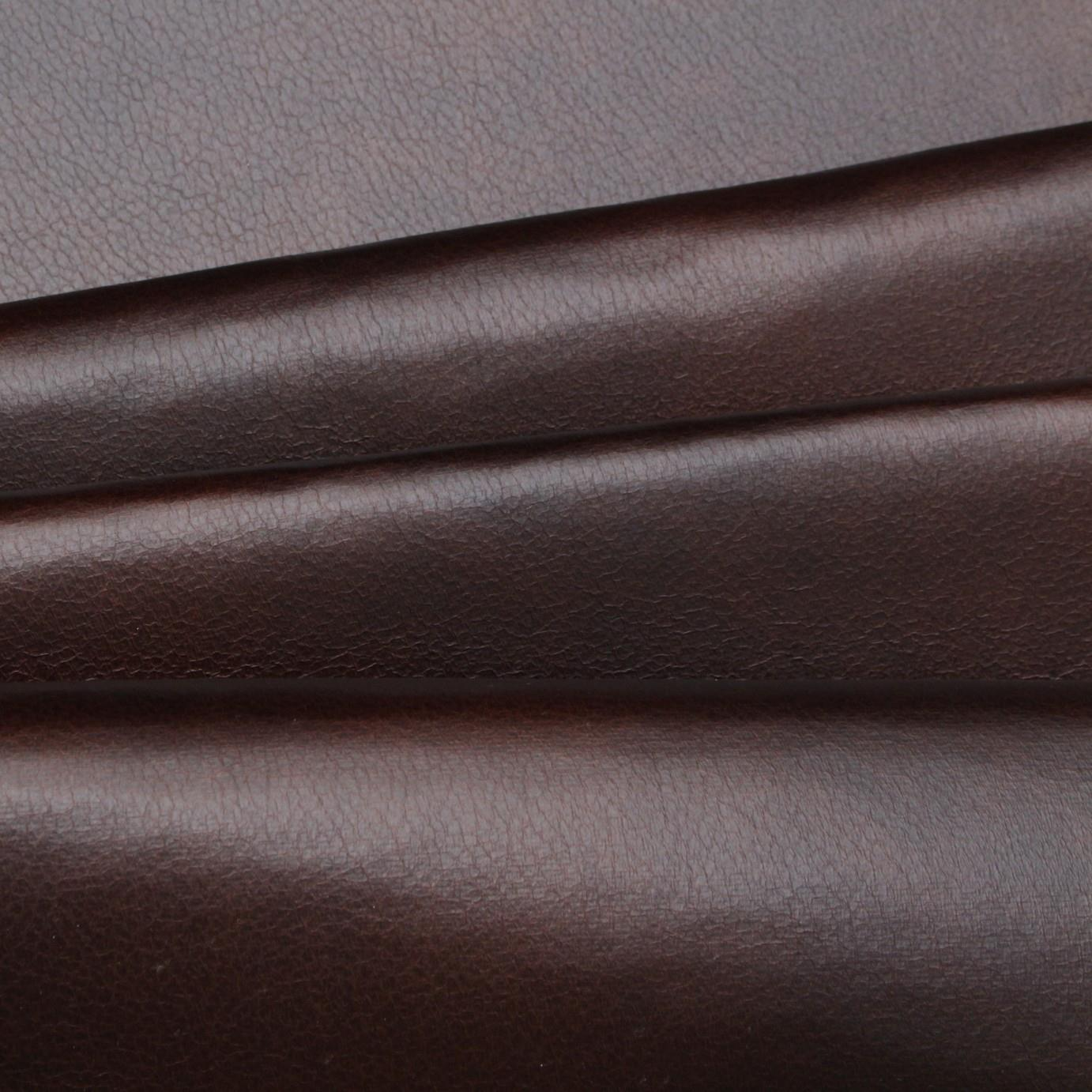 Antique Distressed Look Faux Leather Upholstery Fabric