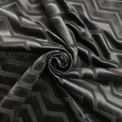Fabric Outdoor Chairs Telescope Directors Metallic Look Stripe Velvet | Upholstery