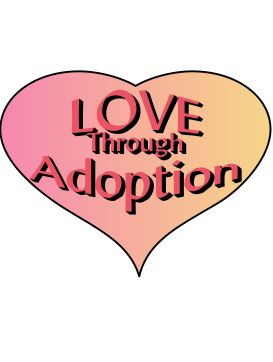 love adoption - Sign