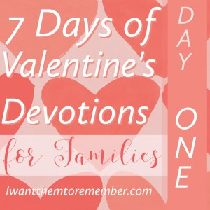Valentine's Devotions
