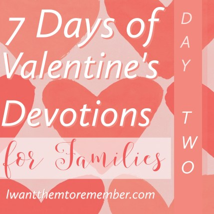 Valentine's Devotions 2
