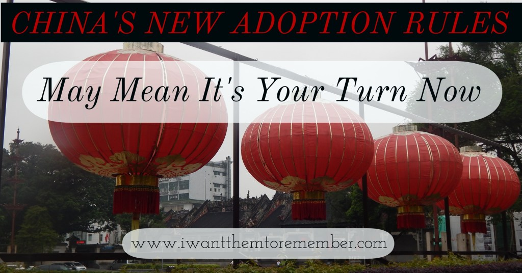 China's New Adoption Rules