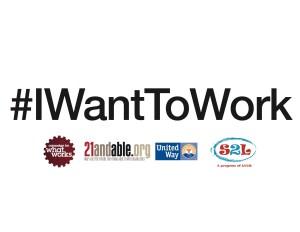IWantToWork printable selfie card download