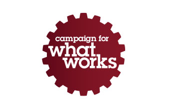 Campaign for What Works logo