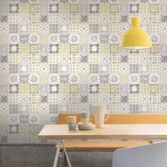 Wallpaper For Kitchen Paper Towel Holder Grandeco Porto Floral Pattern Baroque Motif Bathroom A22901