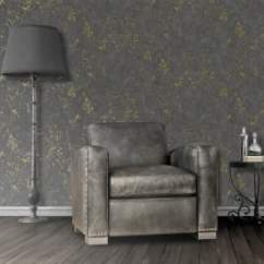 Wall Paper For Living Room Furniture Placement Rectangular Charcoal Wallpaper I Want Muriva Marble Pattern Faux Effect Stone Metallic Gold Vinyl E85529