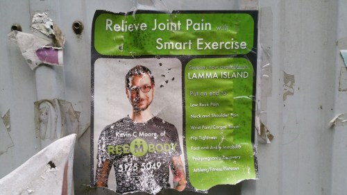 Relieve Joint Pain Smart Exercise Lamma Island poster ad
