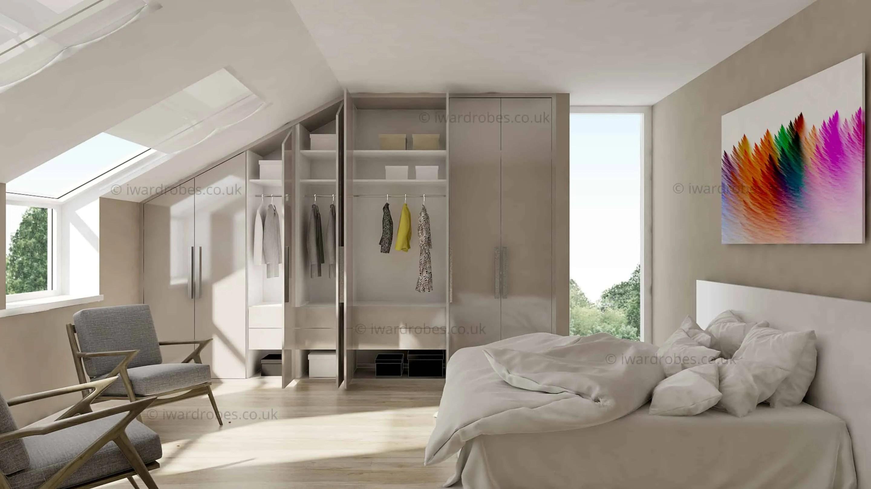 Wardrobe And Hanging Drawers