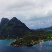 Bora Bora : vue du ciel, la Perle du Pacifique