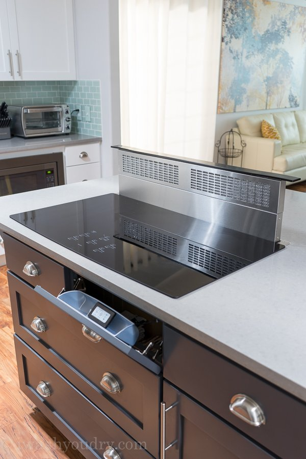 hide kitchen trash can stainless steel faucet hacks to organize and make your flow better