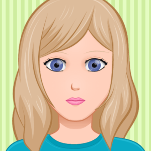 girl persona for the website