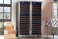 Temperature And Humidity Controlled Wine Storage Cabinet ...