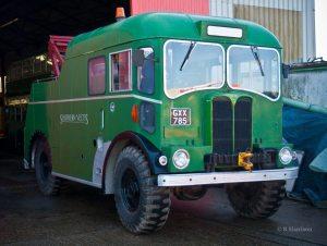 A.E.C Matador Tow truck