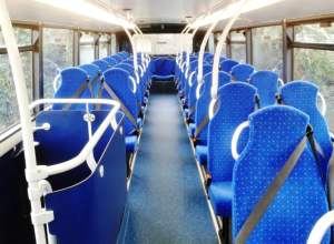 The Upper Deck layout of ADL Enviro 400 No 1519 (HW62CCD)