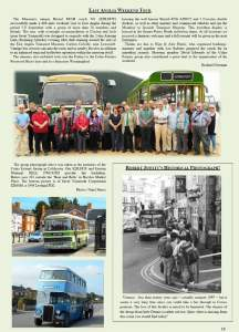 'The Enterprise' report on the members trip to the east Anglia Transport Museum
