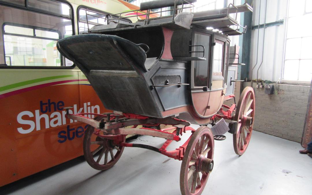 Civility c.1880 Stage Coach