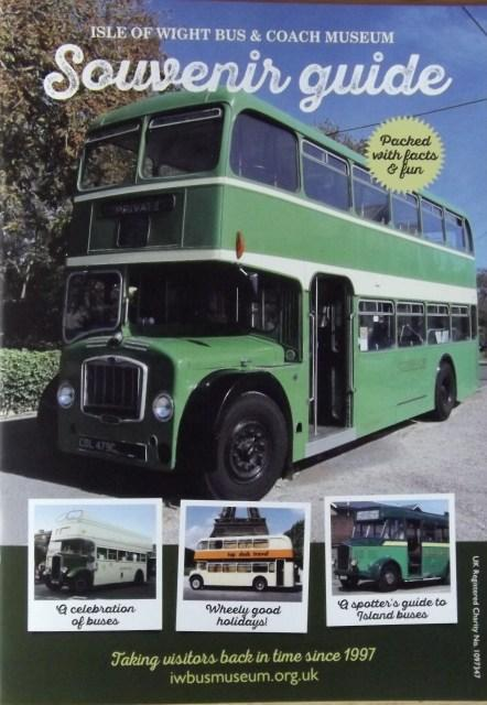 isle of wight bus and coach museum souvenir guide