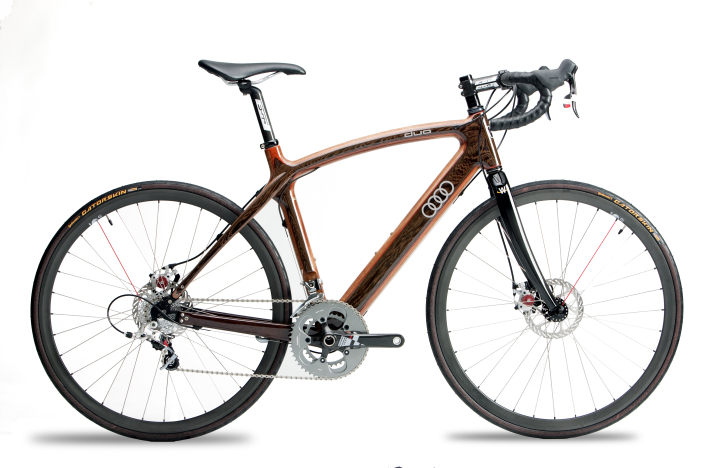 Audi/Renevo Create Hardwood Bicycles