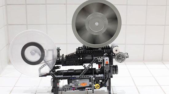 Lego Technic Movie Projector