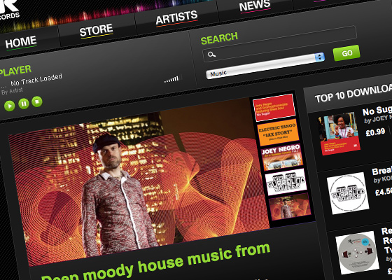 Z Records Music Download Store Goes Live