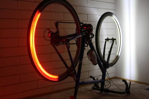 Revolights: LED Bike Lights for your Wheels
