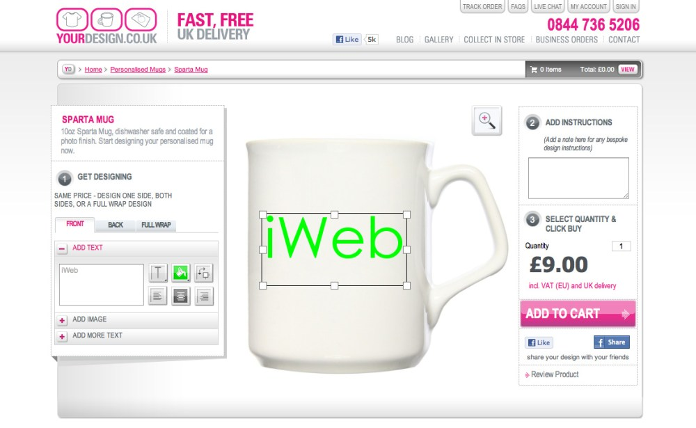 Enhanced Design for YourDesign.co.uk