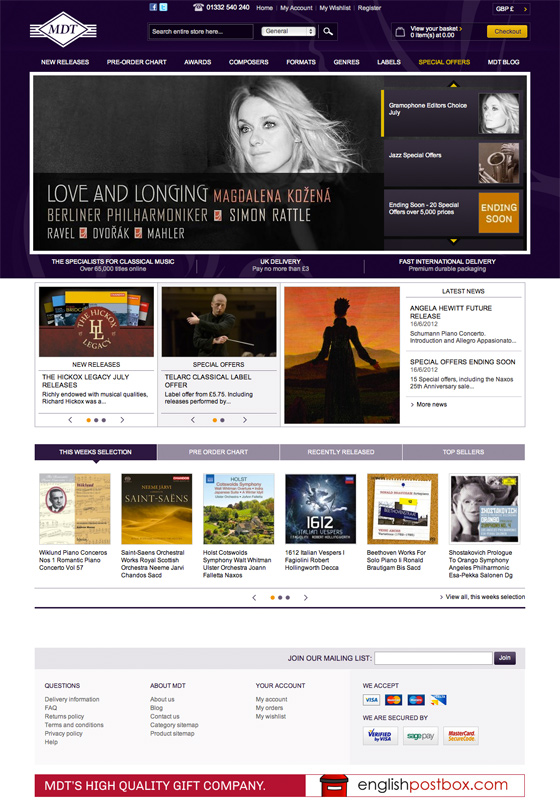 iWeb virtuosos enable classical music business to perform at a much faster tempo