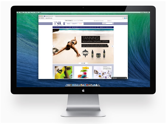 iWeb brings a little Magento glamour to beauty product suppliers