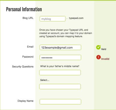 Form Validation | | Principles of Mobile Website Design