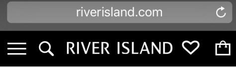 River Island | Principles of Mobile Web Design
