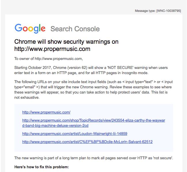Google search console | iWeb